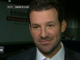 Watch: Romo: 'I don't know that I would've been able to take that same hit a couple years ago'