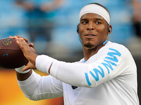 Watch: How much will Cam Newton play vs. Patriots?