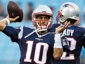 Watch: Davis: Starting Garoppolo over Brady makes sense