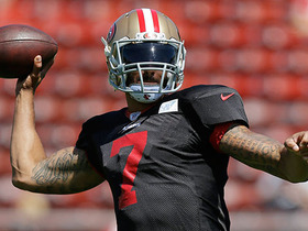 Watch: Colin Kaepernick set to start against Packers