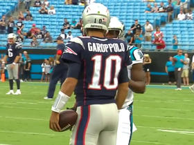 Watch: Jimmy Garoppolo to start ahead of Tom Brady vs. Panthers