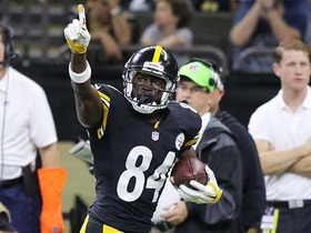 Watch: Can't-Miss Play: Roethlisberger finds Brown for 57-yard TD