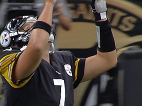 Watch: Steelers opening drive vs. Saints