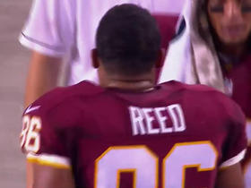 Watch: Kirk Cousins throws deep left to Jordan Reed for a 20-yard touchdown
