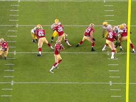 Watch: Colin Kaepernick hits DeAndrew White for a 12-yard gain