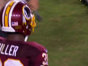 Watch: Kendall Fuller intercepts EJ Manuel on final play of the game