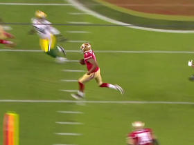 Watch: Colin Kaepernick makes a 10-yard run but comes up short of the first down