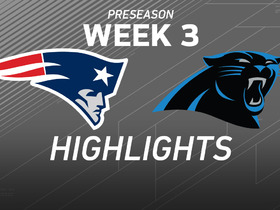 Watch: Patriots vs. Panthers highlights