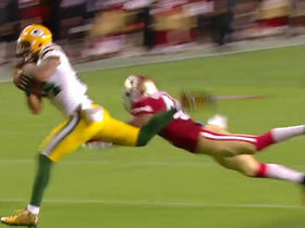Watch: Joe Callahan hits Jared Abbrederis on the run for an 18-yard TD