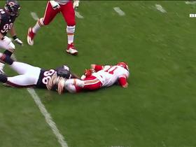 Watch: Akiem Hicks gets the big sack on Alex Smith