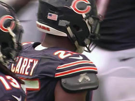 Watch: Jay Cutler finds Ka'Deem Carey for the 10-yard gain