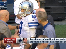 Watch: Tony Romo is expected to miss at least first half of season