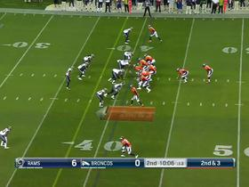 Watch: Trevor Siemian picked off by Cody Davis