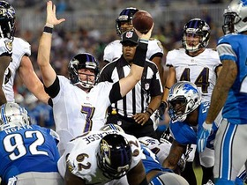 Watch: Lions vs. Ravens highlights