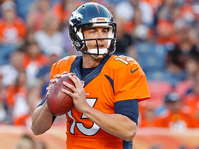 Watch: Every Trevor Siemian throw from Preseason Week 3