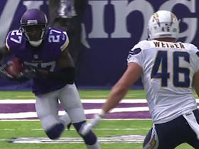 Watch: Jayron Kearse intercepts Mike Bercovici and returns it for 38 yards