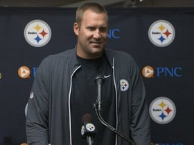 Watch: Roethlisberger: 'It's fun to get back out there'