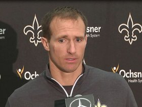 Watch: Drew Brees Postgame Saints vs. Steelers Presser