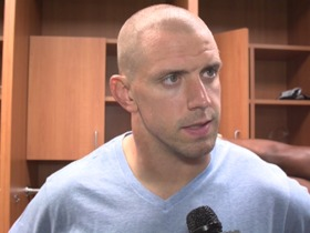 Watch: Laurinaitis Saints-Steelers Postgame Interview