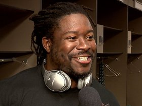 Watch: Lacy feels really good about the running game