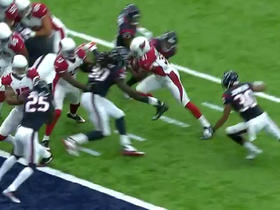Watch: David Johnson rushes for a 3-yard TD