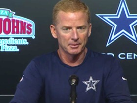 Watch: Garrett: Romo Injury; Prescott's Preparation