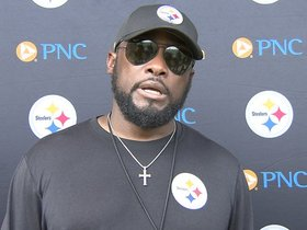Watch: Tomlin: 'A good work day today'