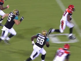 Watch: T.J. Yeldon fumbles, Bengals Rey recovers it