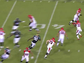 Watch: Andy Dalton finds Jeremy Hill for a 28-yard gain