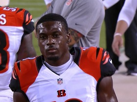 Watch: A.J. Green leaves preseason game against Jaguars with injury