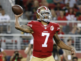 Watch: Reaction to Kaepernick refusing to stand for National Anthem