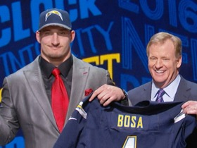 Watch: Joey Bosa signs 4-year contract with Chargers