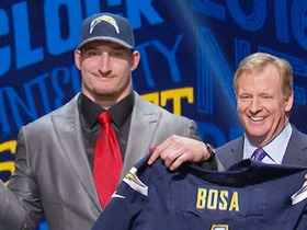 Watch: Chargers sign 1st round pick Joey Bosa to 4-year contract
