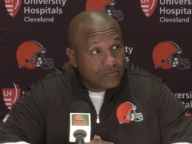 Watch: Hue Jackson: We're going to play our guys