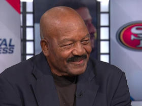 Watch: Jim Brown on Colin Kaepernick: 'I am with him 100 percent'