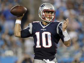 Watch: Who will be the starting QB for the Patriots on Thursday?