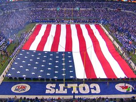 Watch: National Anthem - Eagles vs. Colts