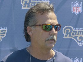 Watch: Jeff Fisher Rams Camp Presser - 8/30