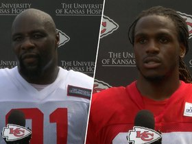Watch: Hali & Charles Happy to be Back on Field