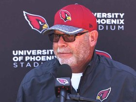 Watch: Arians 'Confident' Team Is More Talented