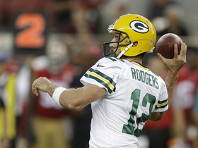 Watch: Simms: 'Aaron Rodgers is the best quarterback I have ever seen'