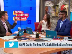 Watch: 'Good Morning Football' discusses upcoming Fantasy Twitter Draft
