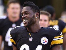Watch: Antonio Brown restructures deal with Steelers