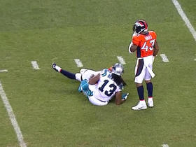 Newton finds Benjamin for 15 yards on 3rd down