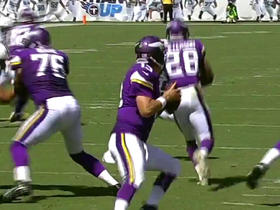 Shaun Hill finds Kyle Rudolph for 16 yards