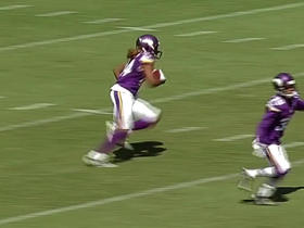 Cordarrelle Patterson returns kickoff for 61 yards