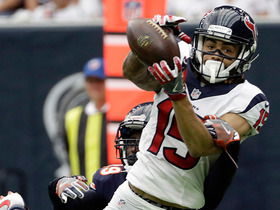 Watch: Will Fuller nice catch and run for an 18-yard TD
