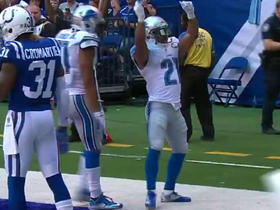 Matthew Stafford finds Ameer Abdullah for 11-yard TD
