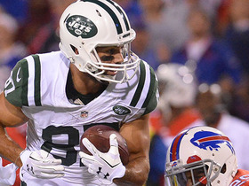 Watch: Fitzpatrick connects with Eric Decker deep for 35 yards