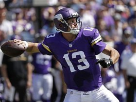 Who will be the Vikings starting QB in Week 2?